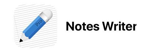 notes writer app logo image