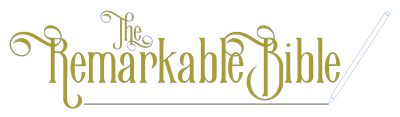 the remarkable bible logo image